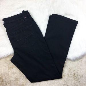 NWT Jag Mid Rise Straighteners Leg Denim Pants 16